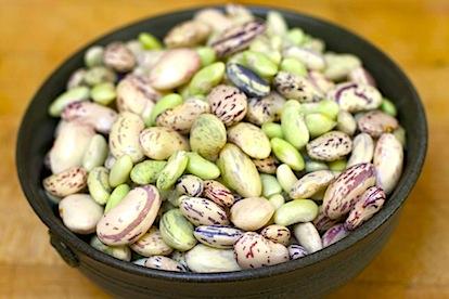 shelling beans 38