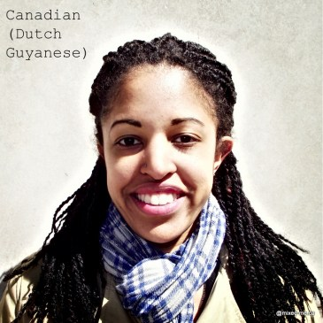 CanadianDutch-Guyanese