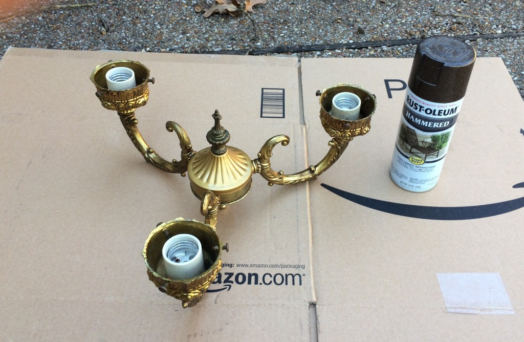 Brushed Bronze Spray Paint