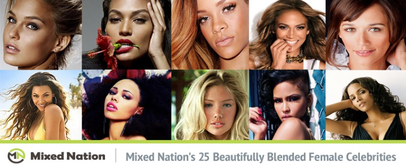 50999f7bedb8 Mixed Nation's 25 Beautifully Blended Female Celebrities - Mixed Nation