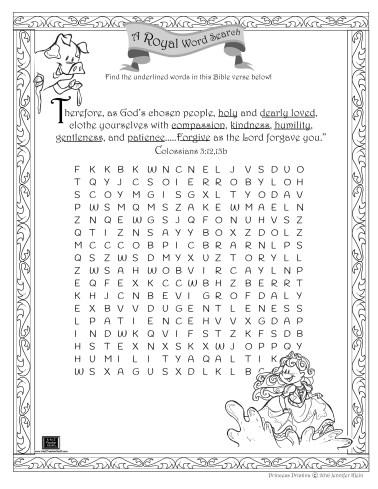 Pristina wordsearch - mom