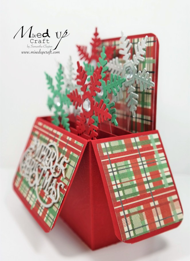 Pop Up Box Card Christmas Card
