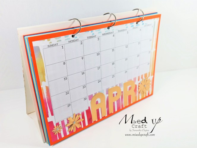 Giant Monthly Calendar