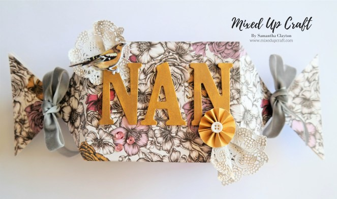 Large Sweet Wrapper Gift Box