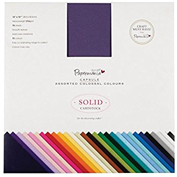 Papermania, Capsule Assorted Colossal Colours.