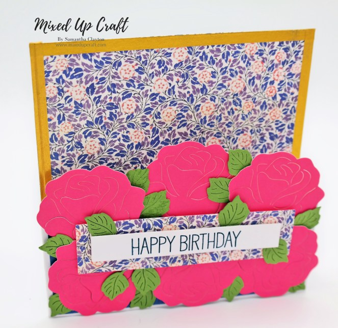 Vintage Rose Gate Card