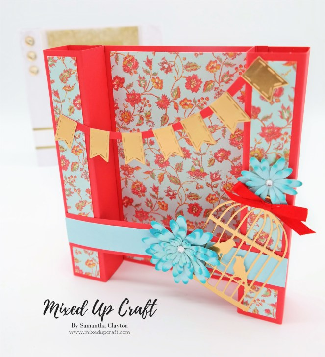Pillar Fold Card Column Fold Card