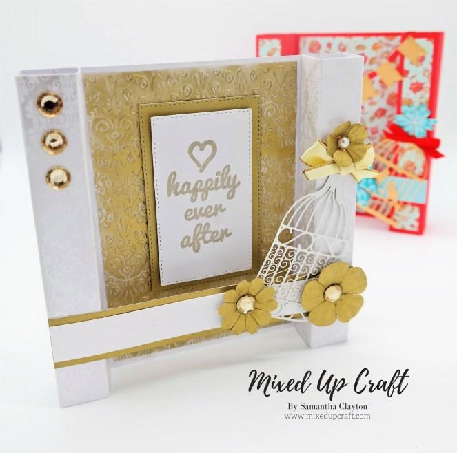 Pillar Fold Card Column Fold Card