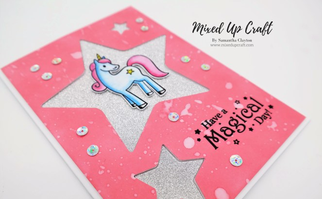 Unicorn Star Card.