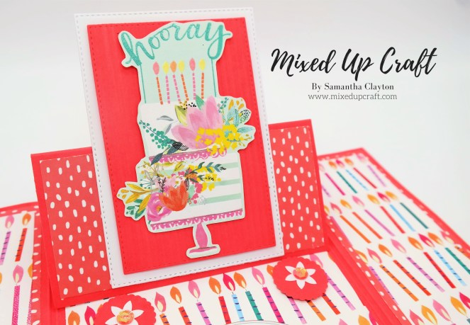 Hoe to make a Gate-fold Easel card