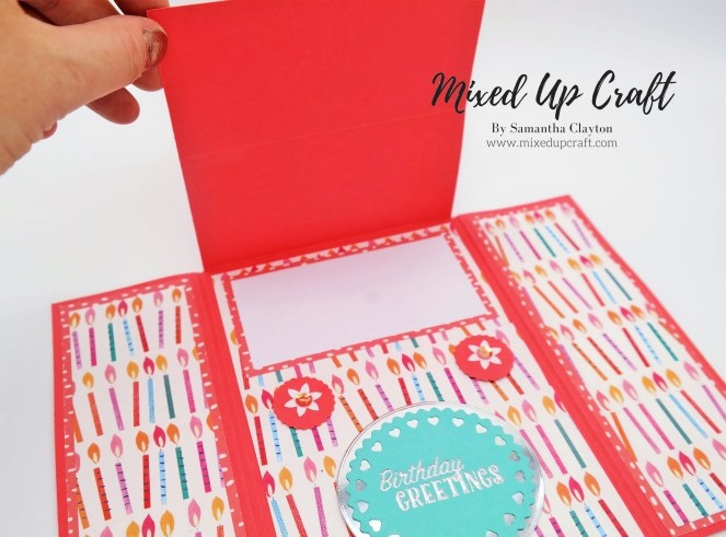 How to make a Easel Gate-fold Card
