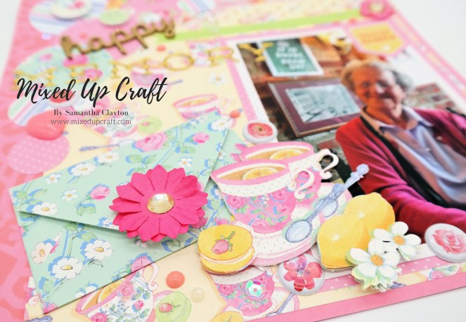 """""""Sweet Moments"""" Scrapbook Layout"""