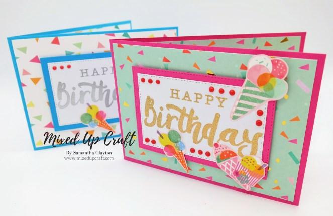 Pop Up Easel Card / Corner Easel Card