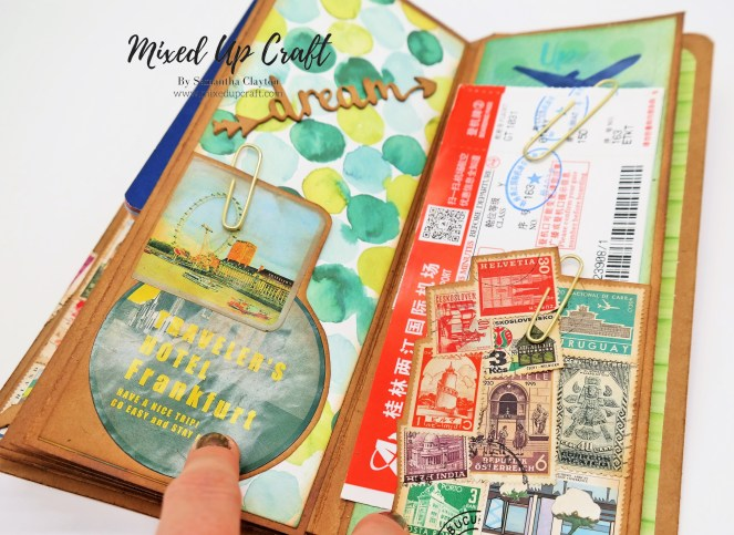 Travellers Notebook, Mini Album, Journal