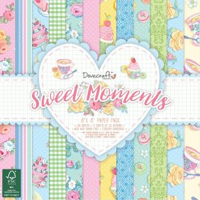 Dovecraft Sweet Moments 8 x 8 paper pad