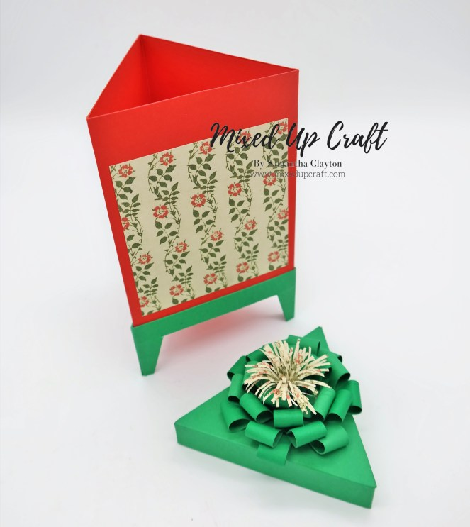 Fancy Triangular Gift Box