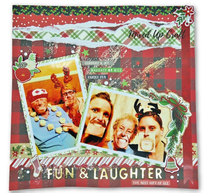 Christmas Scrapbook Layouts