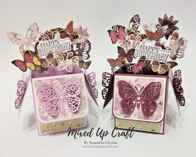 Butterfly Pop Up Box Card
