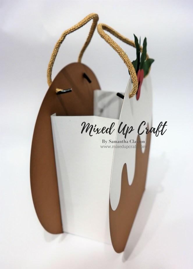 Festive Gift Bags, Christmas Pudding