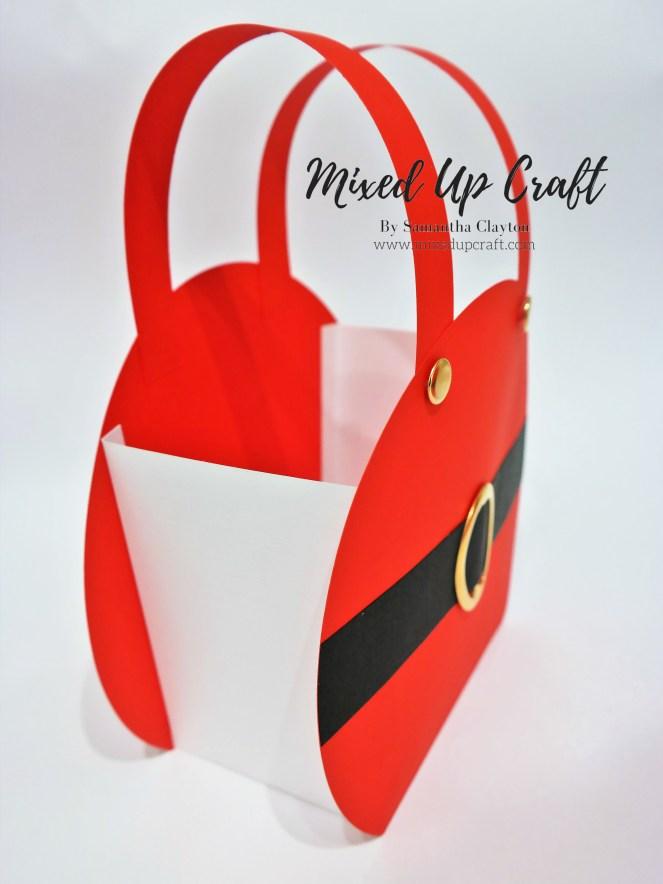 Festive Gift Bags, Santa's Trousers