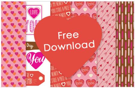Free Valentine Paper Downloads