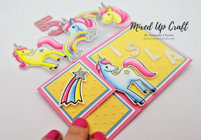 Unicorn Pop Up Box Card