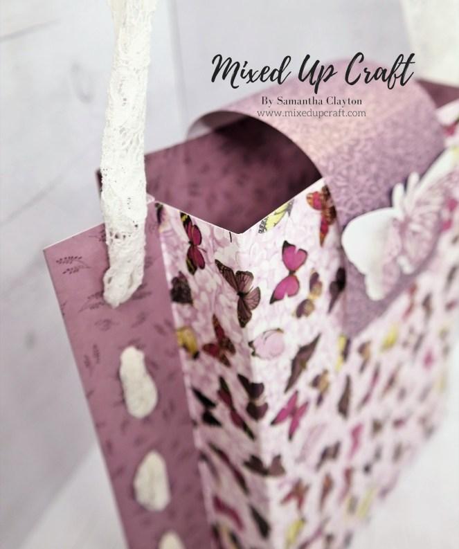 Beautiful Woven Ribbon Gift Bag