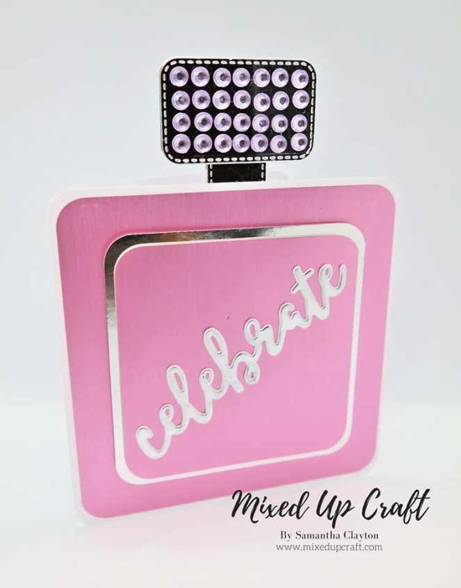 Perfume Bottle Card
