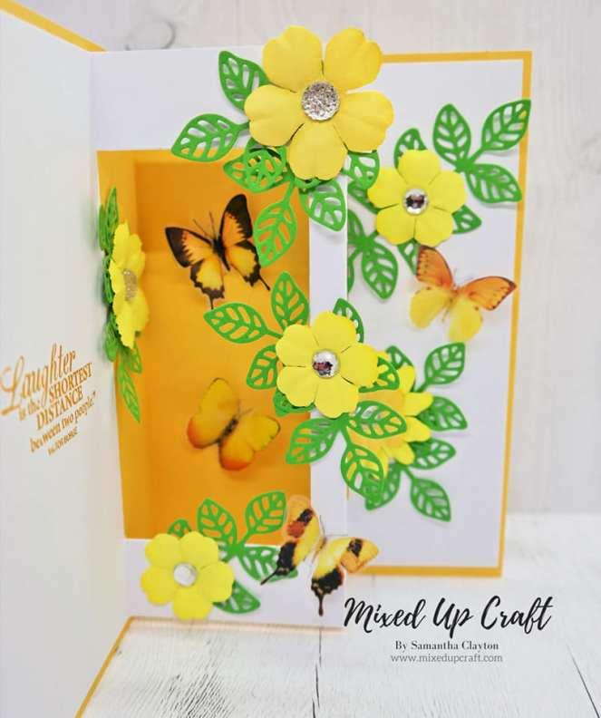 Inside Pop Up card