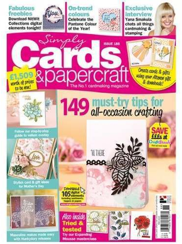 Simply Cards And Papercraft Magazine Issue 188