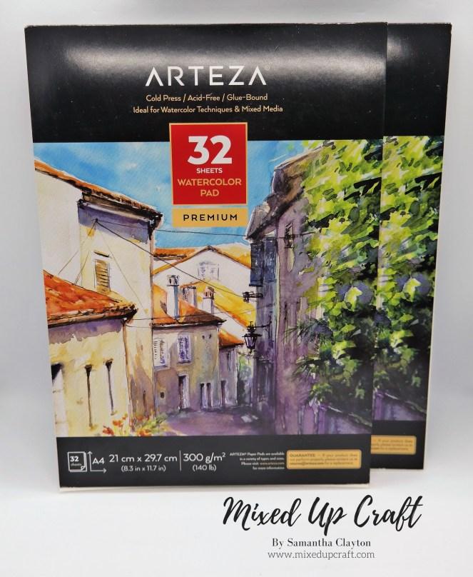 Arteza A4 Watercolour Pad