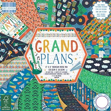 First Edition Grand Plans Paper Pack