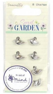 Secret Garden Bird Charms