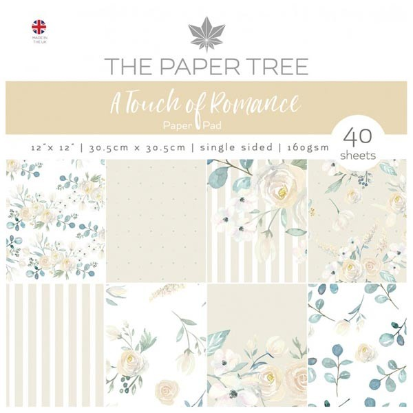 The Paper Tree 'A Touch of Romance' Paper Pack