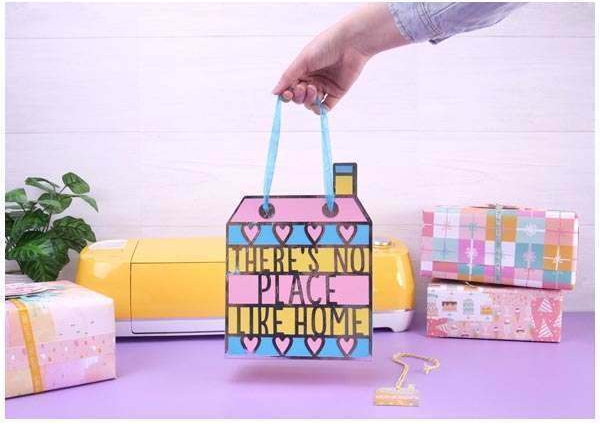 First Edition Digital Dies House Gift Bag