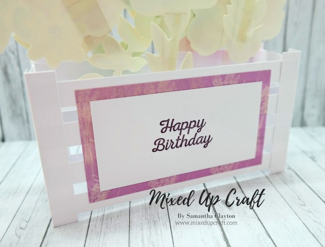 Large Pop-Up Box Card