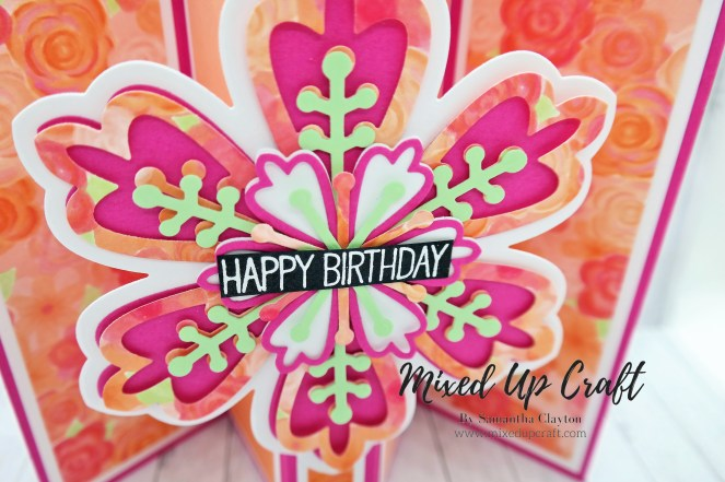 Pop Out Gatefold Card