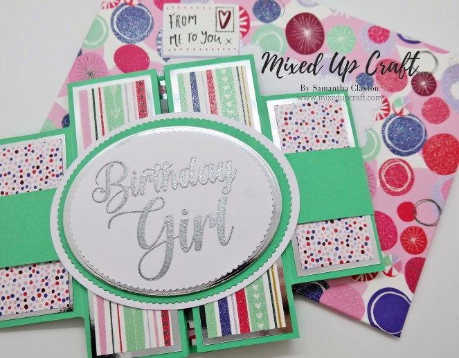 Large Double Display Fold Card