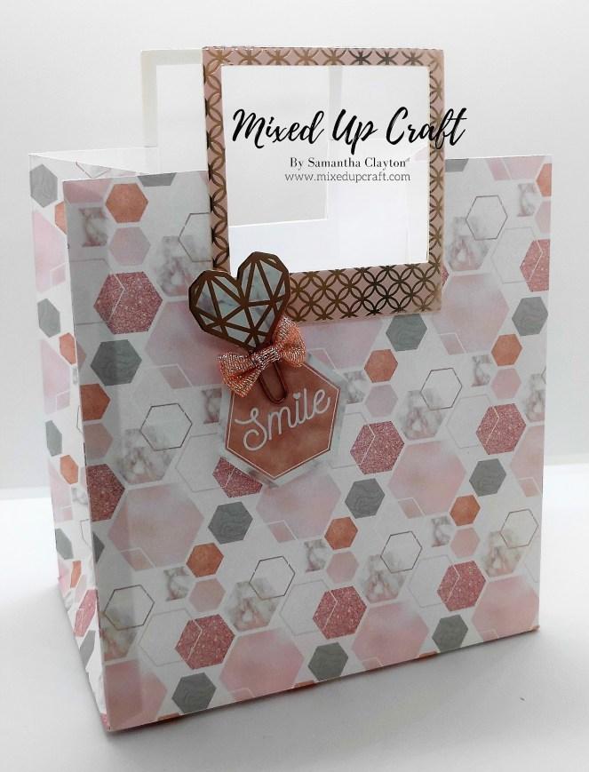 "7"" x 7.5"" x 4.5"" Fold Flat Gift Bag"