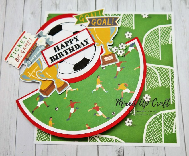 Rocker Card Football Themed