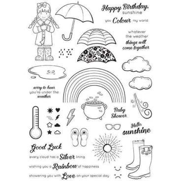 Whatever The Weather Stamp Set