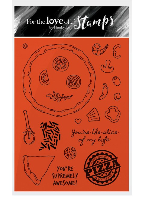 Pizza Passion Stamp Set