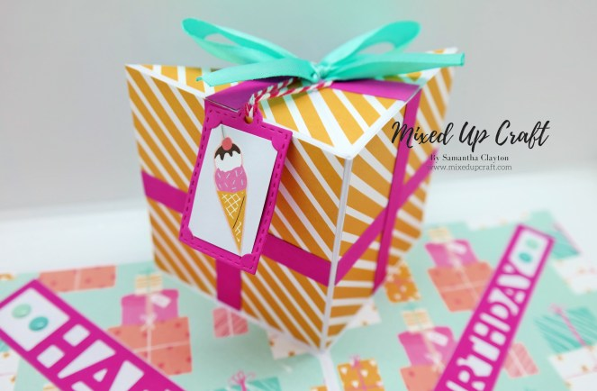 Pop-Up Birthday Present Card