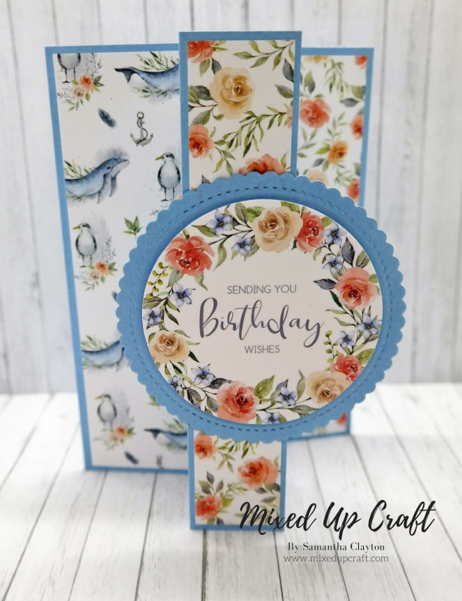 Easy Panel Fold Cards