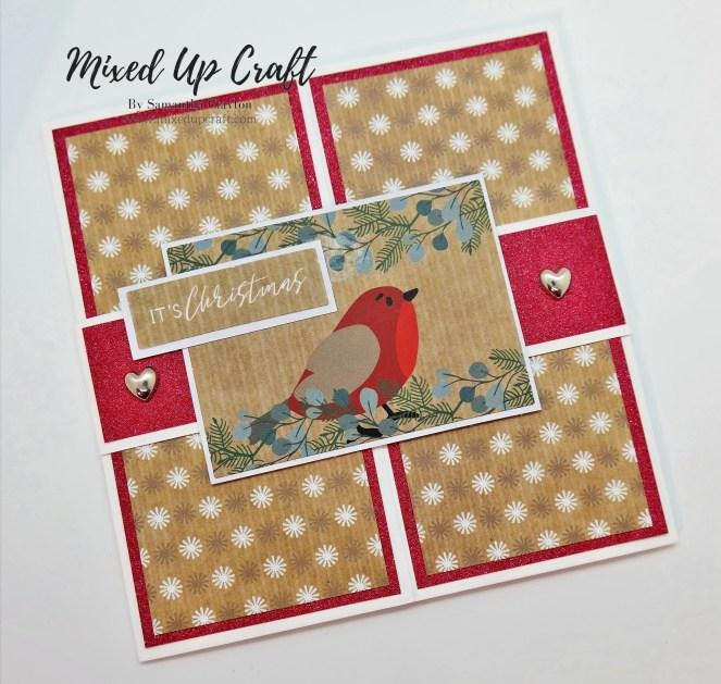 New Size 6 X 6 Pop-Out Gatefold Card