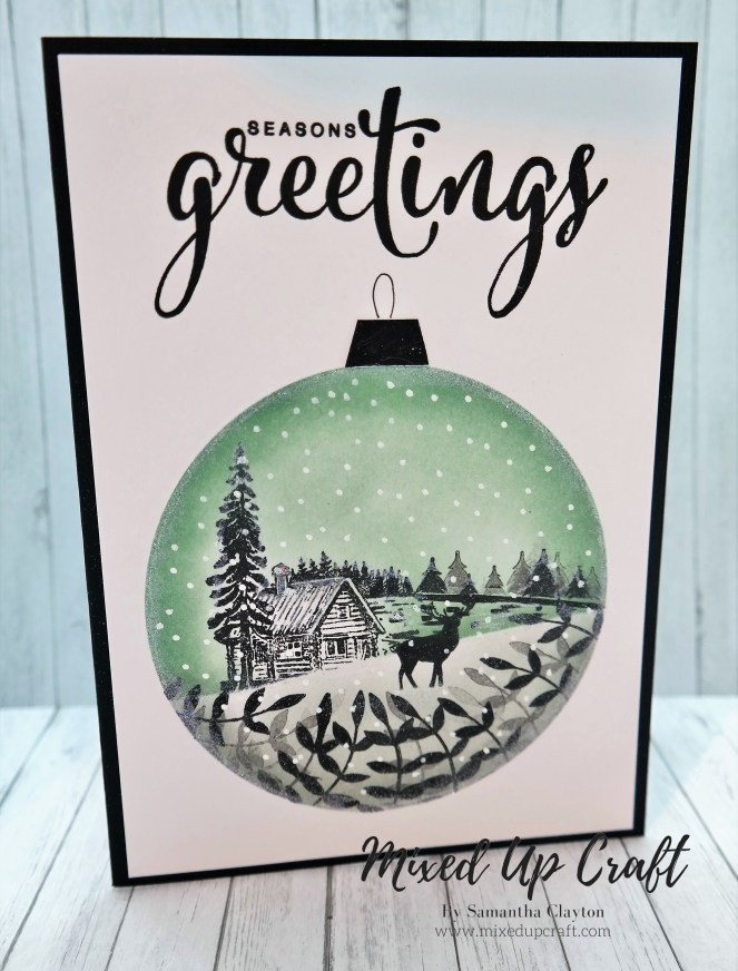 Silhouette Christmas Scene Cards