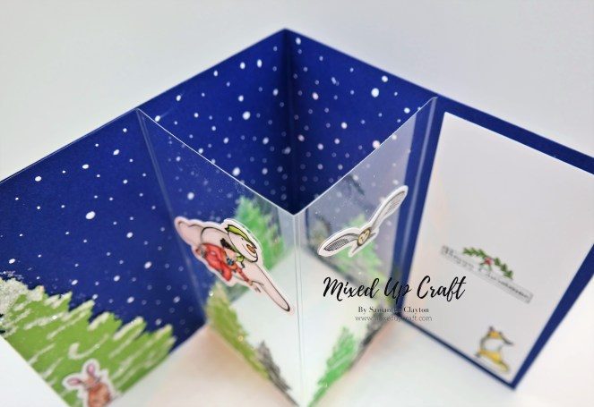 Centre Pop-Out Card