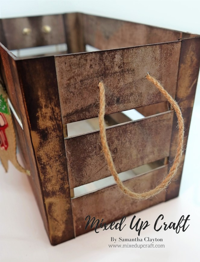 Crate Style Gift Box or Storage Box