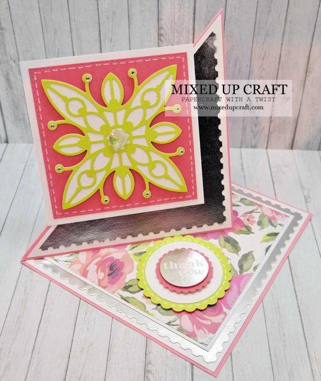 Easy Twisted Easel Card