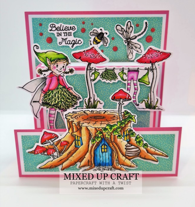 Pretty Stand & Pop Card 6 x 6 Version